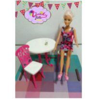 LOTE DE BRINQUEDOS LINDOS E FOFOS COM BARBIE -  - Barbie