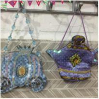 lote lindo de bolsas das princesas disney cinderela e jasmine -  - Disney