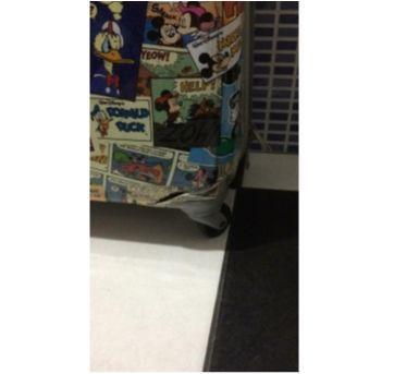 MALA MICKEY MEDIA BAGAGGIO DISNEY - Sem faixa etaria - Disney