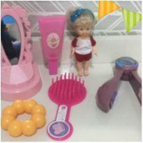 lote lindo de brinquedos para sua princesa -  - Não informada