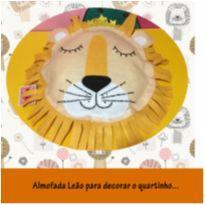 almofada linda leão para decorar o quartinho -  - Não informada