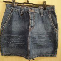 Saia jeans V12 - 12 anos - Sgrima