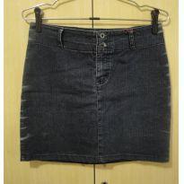 Saia jeans 40/14 - 14 anos - Não informada