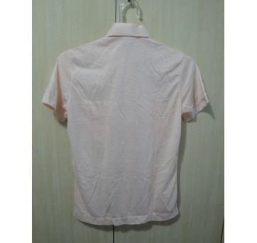 camisa social creme 10 - 10 anos - Não informada