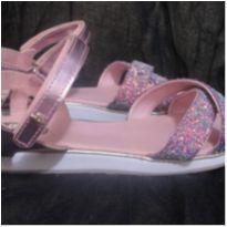 Sandalia BIBI rosa Gliter 32 - 32 - Bibi