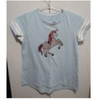 Camiseta Unicornio lantejoulas 12 - 12 anos - Palomino