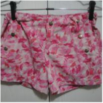 Short Rosa 14 - 14 anos - Rovitex Kids