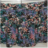 Short saia florido 14