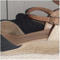 Sandalia jeans 34