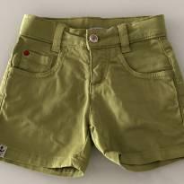 Short brim verde Richards Kids - 2/3 anos - 3 anos - Richards Kids
