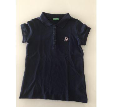 Camisa Polo azul marinho - Benetton - 4/5 anos - 4 anos - Benetton Baby e Benetton
