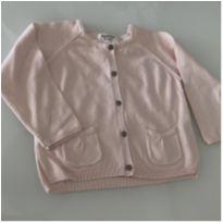 Casaquinho de tricot rosa Zara - 12/18meses - 12 a 18 meses - Zara Baby e Zara