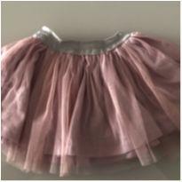 Saia de tule rosa - 2 anos - 2 anos - Petiliê Enfant