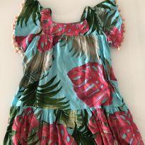 Vestido Floral BruBru - 2 anos - 2 anos - Outras