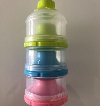 Dosador de leite em pó - trio colorido - Sem faixa etaria - Outras