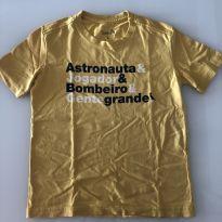 Camiseta Reserva - amarela Gente grande - 6 anos - 6 anos - Reserva mini
