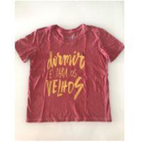 Camiseta Reserva - Dormir é para os velhos - 6 anos - 6 anos - Reserva mini