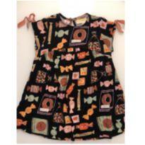 Vestido Fabula - Doces - 4 anos - 4 anos - Fábula