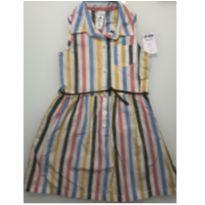 Vestido listrado colorido Carters - 4T - NOVO - 4 anos - Carter`s