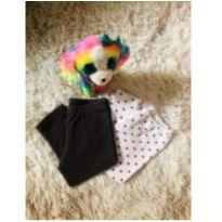 Kit calças - 6 meses - Elian e sem etiqueta