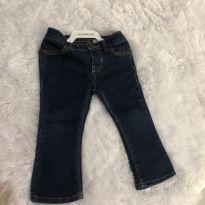 Calça jeans flare - 9 a 12 meses - OshKosh