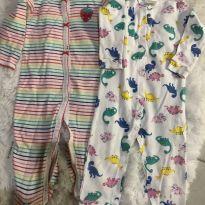 Kit macacões - 6 meses - Carter`s e Up Baby