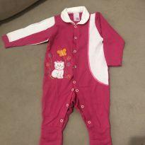 Macacão lindo pink - 9 meses - Sem marca
