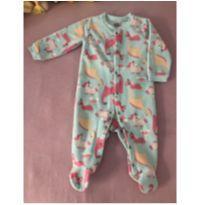 Macacão fleece - 9 a 12 meses - Tip Top
