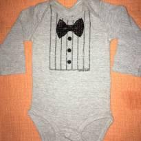 Body gravatinha tigor - 3 a 6 meses - Tigor Baby