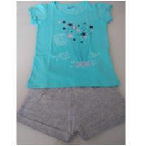 Conjunto Blusinha / Shorts - 4 anos - Peppermor