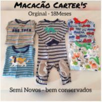 Macacão Carter`s 18M - 5 peças $65,00 cada - 18 meses - Carter`s