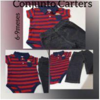 Conjunto Carter`s 6-9Meses - 6 a 9 meses - Carter`s