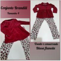 Conjunto Inverno / Menina - 4 anos - Brandili