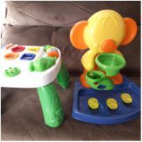 kit mesinha de atividade com 2 brinquedos -  - Nacional