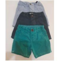 Shorts Menino - 3 peças (16,00) cada