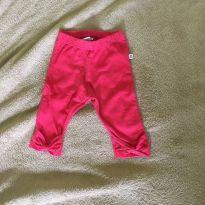 Calça baby laço rosa - 0 a 3 meses - Teddy Boom