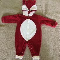 Macacão raposa - 6 meses - Presente de Anjo