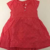 Vestido rosa - 3 meses - Carter`s