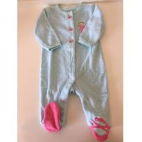 Macacão azul e rosa - 3 meses - Carter`s