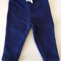 Calça azul - 3 meses - Carter`s