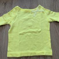 camisetinha amarela - 6 meses - Carter`s