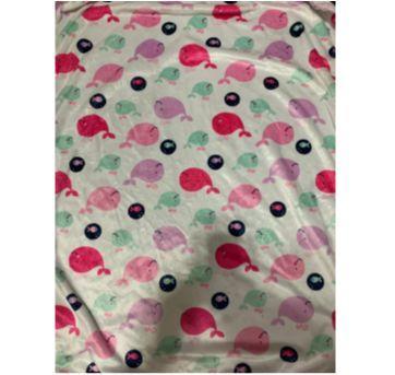 cobertor infantil com estampa de peixe - Sem faixa etaria - Não informada