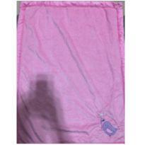 cobertor infantil rosa com estampas -  - Não informada