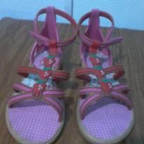 sandália moranguinho rosa - 29 - Grendene