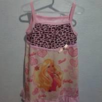 camisola estampa barbie - 4 anos - Não informada