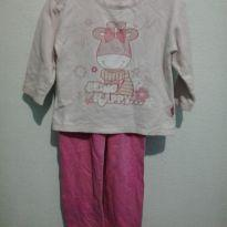 pijama da girafinha - 18 a 24 meses - Kyly