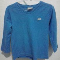 camiseta manga longa milon - 4 anos - Milon