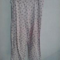 calça pijama flanelada - 12 anos - Não informada
