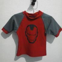 blusa iron man - 4 anos - MARVEL