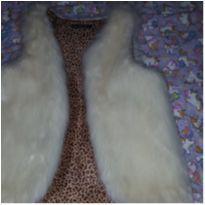 Colete pêlo sintético Kam Bess para mamães - M - 40 - 42 - Não informada e Marca não registrada